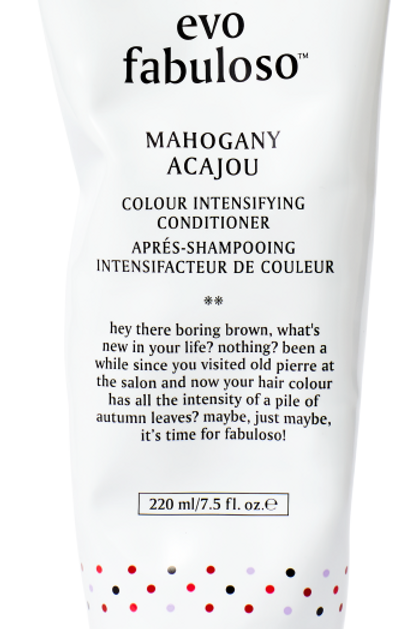 Fabuloso Mahogany Color Boosting Treatment
