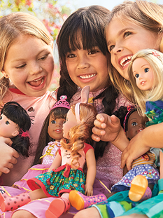 Visual Design For Build Your Own American Girl Doll