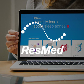 ResMed Website Launch - Digital Strategy & Content Writing