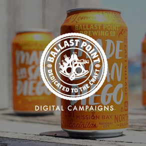 Ballast Point New Product Launch - Digital Strategy & Content Writing