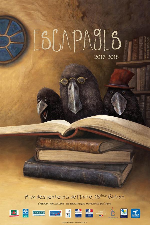 léonie charmot affiche esacapages illustration