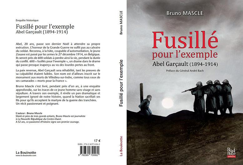 léonie charmot couverture roman guerre fusillé