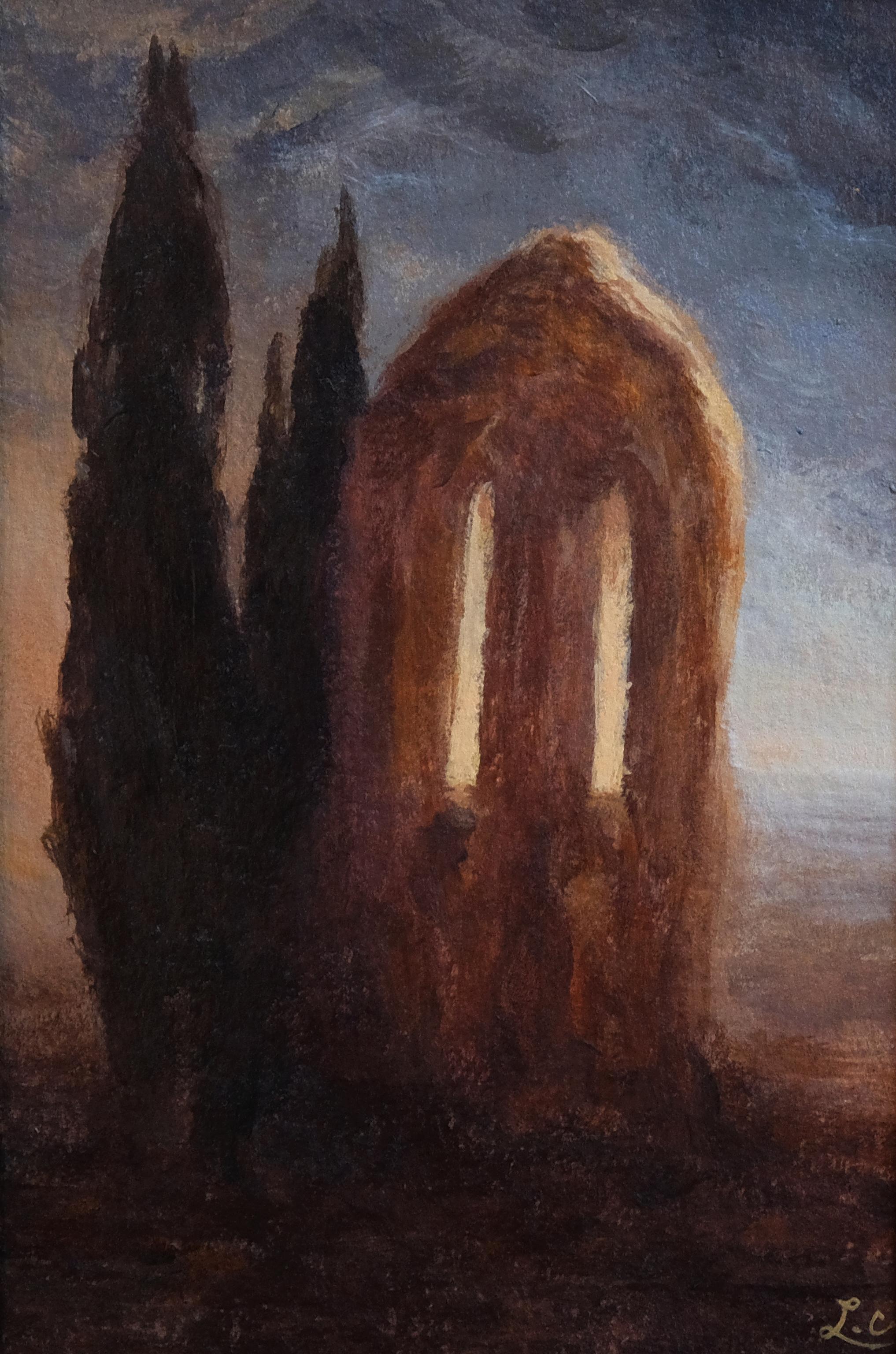 """""""Cyprès des ruines"""""""