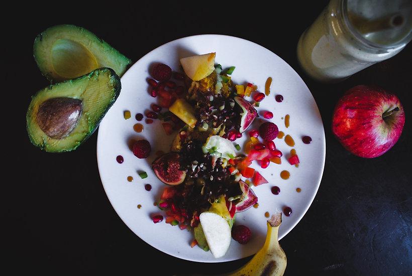 Avocado & strawberry smoothie