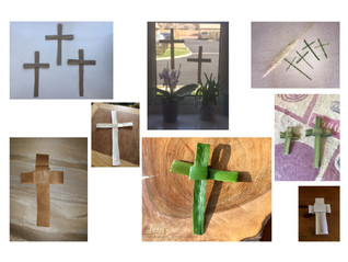 Home-Made Palm Crosses