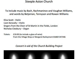 Advent Celebration in Steeple Aston