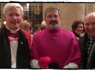 Fr Robin Gibbons installed as Ecumenical Canon by Bishop Colin