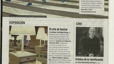 EL PAIS -  REBORN FLASHMOB MADRID REVIEW