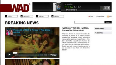 WAD MAGAZINE - MEDIA PARTNER IN THE LAUNCH OF THE THROES AND THE SHINE + LOLI PROMO VIDEO FOR THE COLLECTION REBORN