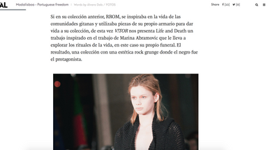 METAL MAGAZINE - LIFE AND DEATH CATWALK REVIEW