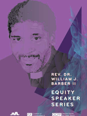 MEYER MEMORIAL TRUST REVEREND WILLIAM J. BARBER II POSTER