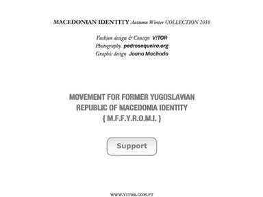 MACEDONIAN IDENTITY FLYER