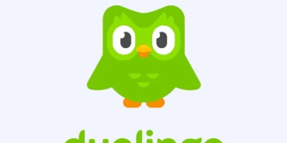 21.6 16:00 'דולינגו- אפליקציה ללימוד שפות (נדרש ידע באנגלית)- חלק ב