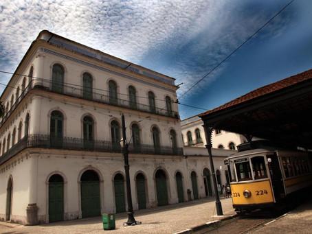 Santos - Passeio cultural e cinematográfico no Centro de Santos.