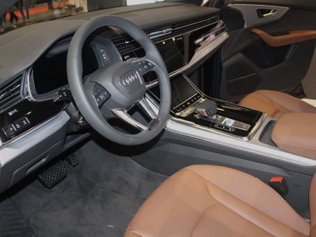 Presente na Boat Show, no espaço dos desejos a Audi levou o novo Audi Q8