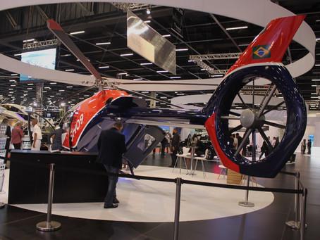 A Kopter, fabricante de helicópteros participou do Espaço dos Desejos da Boat Show 2019