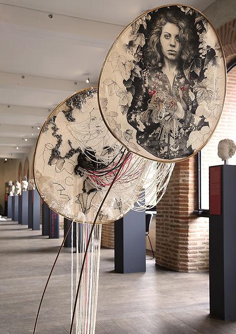 Marie-Claire Laffaire - Pénélope - Installation