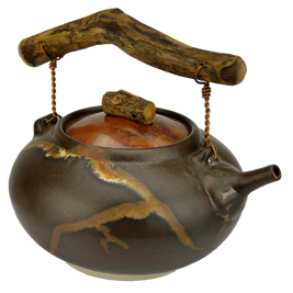 """#61311 """"roots"""" steeping teapot"""