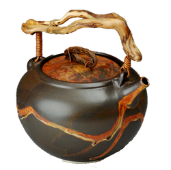 Brown Teapot naked