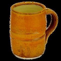 """""""pumpkin"""" stoneware mug"""