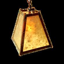 large square hanging pendant