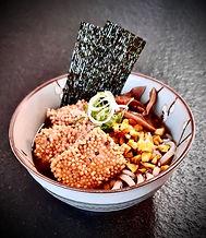 Udon mit geräuchtem Tofu