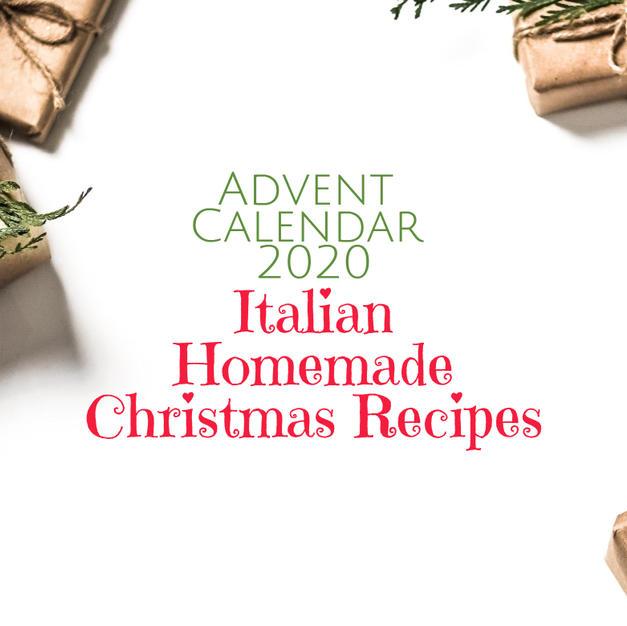 Italian Homemade Christmas Recipes - From $17
