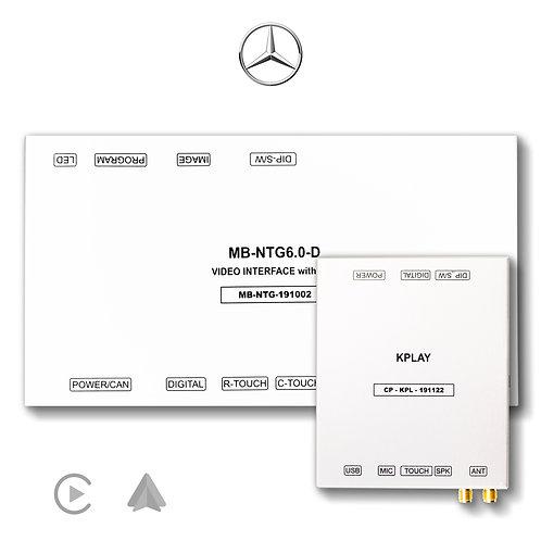 MERCEDES-BENZ NTG6.0 KPLAY