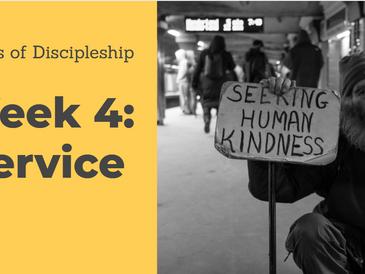 Marks of discipleship Week 4: Service