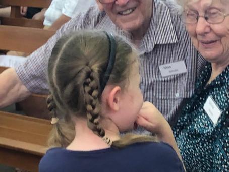 Generational sharing nurtures lifelong faith