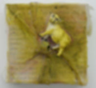 Animals 4.25_ x 4.25_ fabric, mixed medi