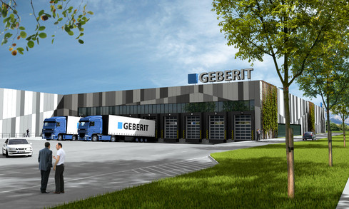Geberit Ruše, Poslovno-proizvodni objekt