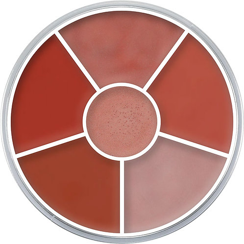 Kryolan Natural Mortuary Lip Color Wheel B