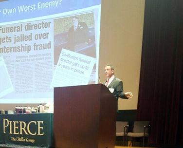 Shane A.S. Ritchie, CFSP speaking