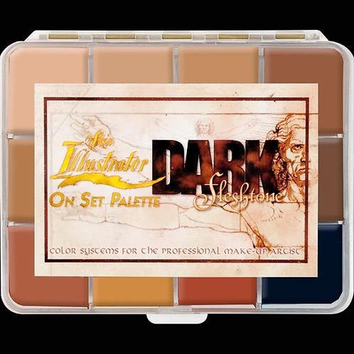 Skin Illustrator Mortuary Dark Flesh Tone Palette