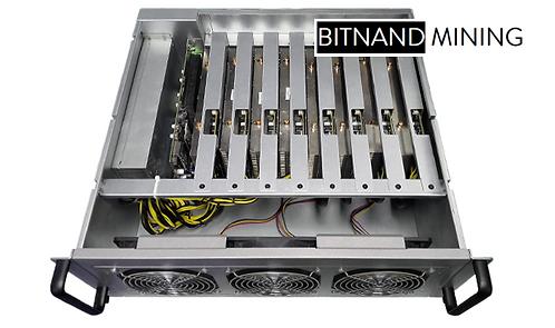 8 GPU Riserless 4U Mining System