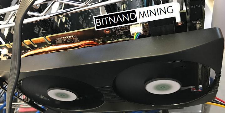 Nvidia P104-100 GPU mining cad in opeation