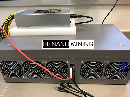 NVIDIA P106 x 9 Complete Mining System