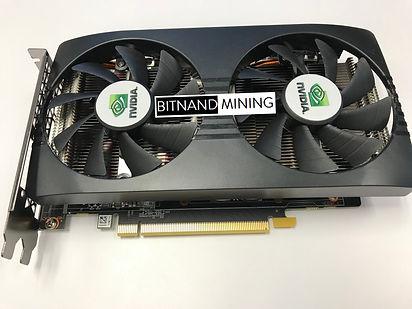 Nvidia P104-100 GPU mining accelerator card. Great fo Ethereum ETH mining. Fastest performane GPU for mining.