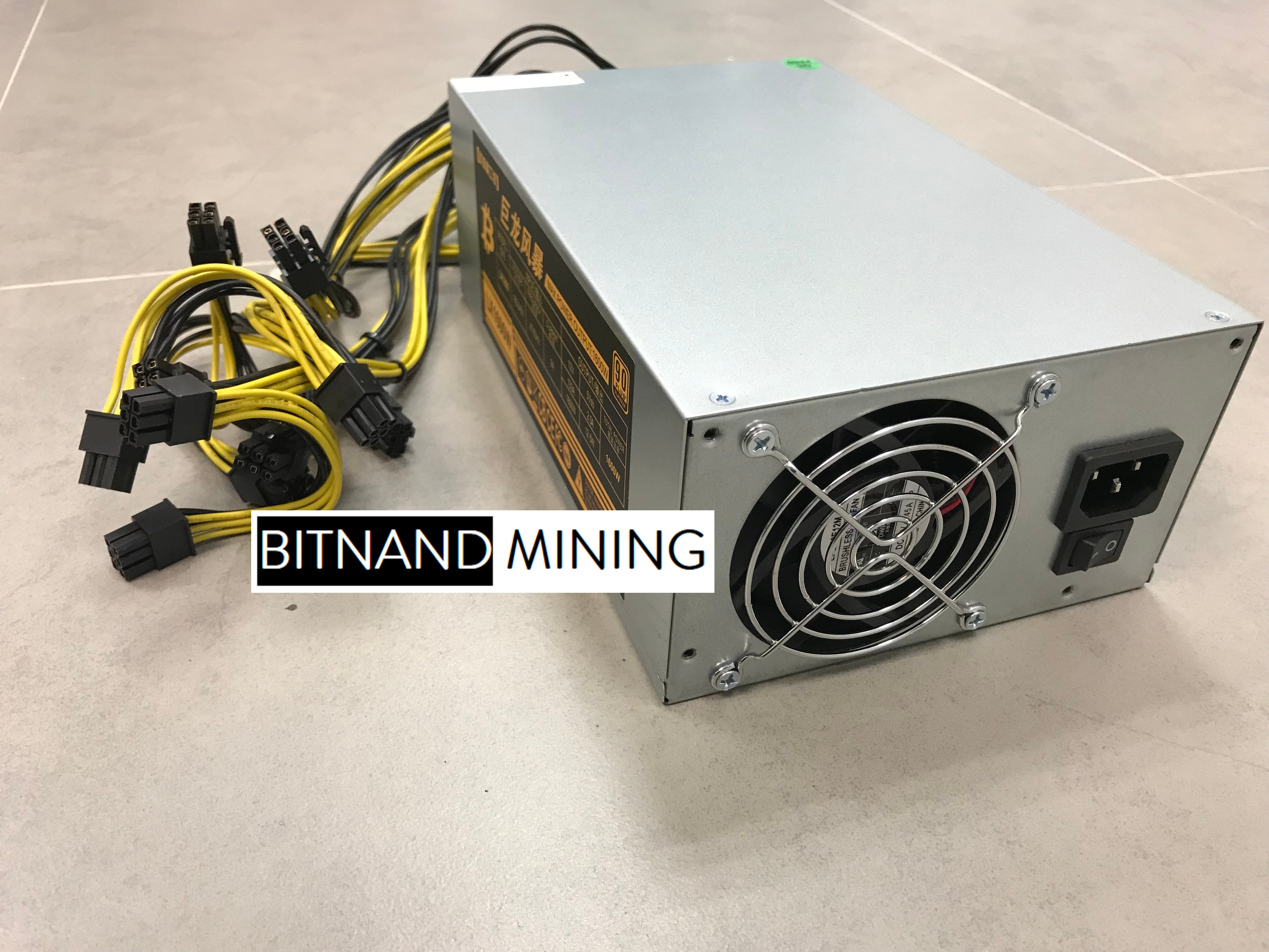 NVIDIA P106 x 9 Complete Mining System FOR SALE NOW!
