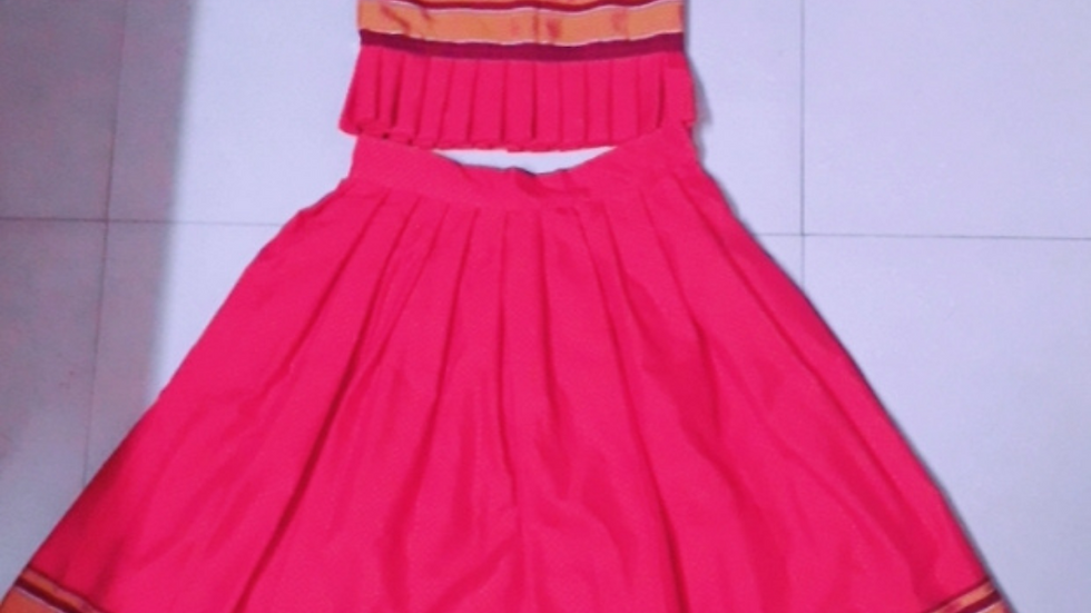 Frock with frill