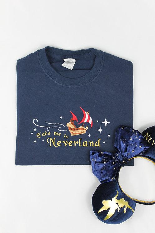 Take me to Neverland Tee