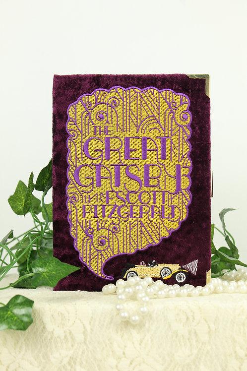 Great Gatsby Book Clutch