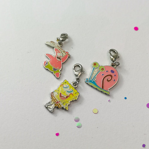 Spongebob Charm Set