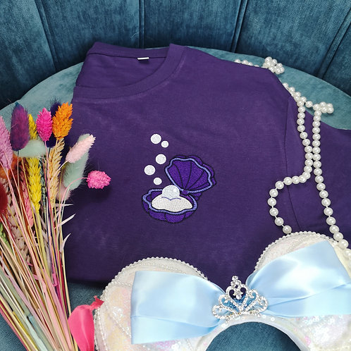 Purple Clam Tee