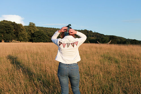 Customisable embroidered Bunting Jacket