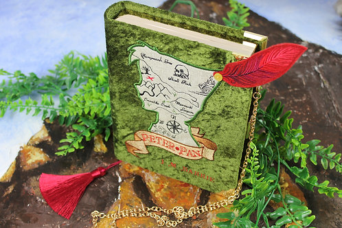 Neverland Map Book Clutch/Cross Bodybag
