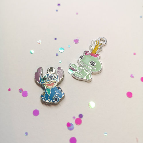 Stitch and Scrump Charm Set