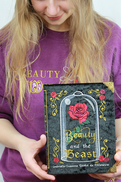 Beauty and the Beast Book Clutch/Cross Bodybag