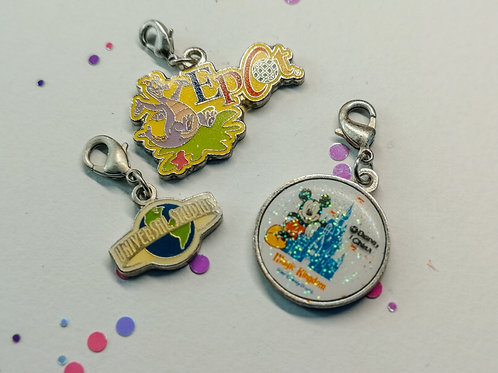 Disney World Charm Set